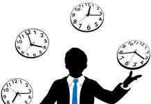 Administração das rotinas de trabalho e otimização do tempo