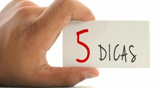 5 dicas para elaborar e distribuir cartão de visitas