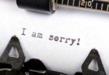 Como pedir desculpas